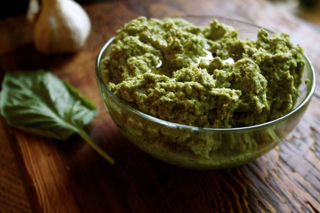 Broccoli & Lemon Zest Pesto | IPOM