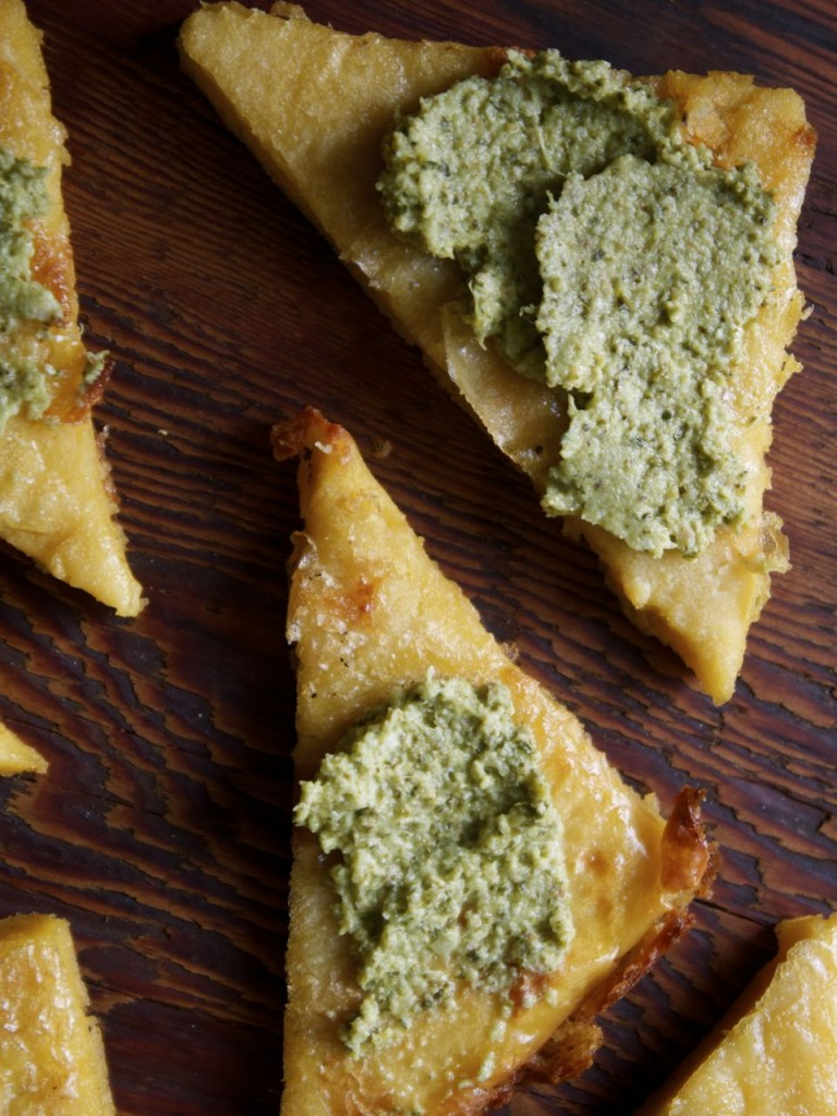 Authentic Italian Chickpea Flatbread | IPOM