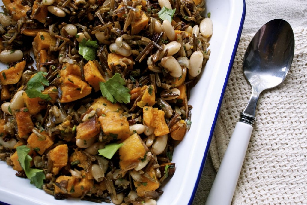 Wild Rice & Roasted Butternut Squash Salad | IPOM