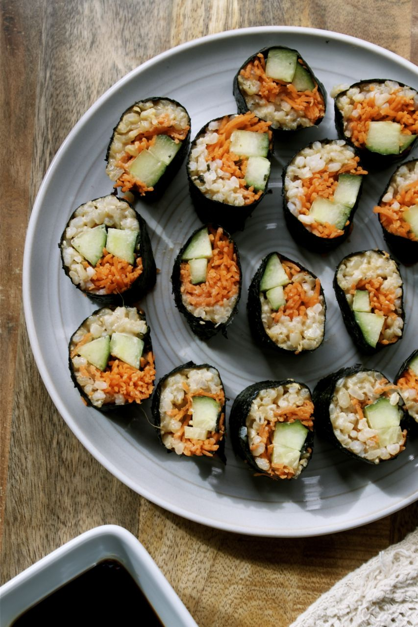 Bon Bon Veggie Sushi Rolls | In Pursuit of More