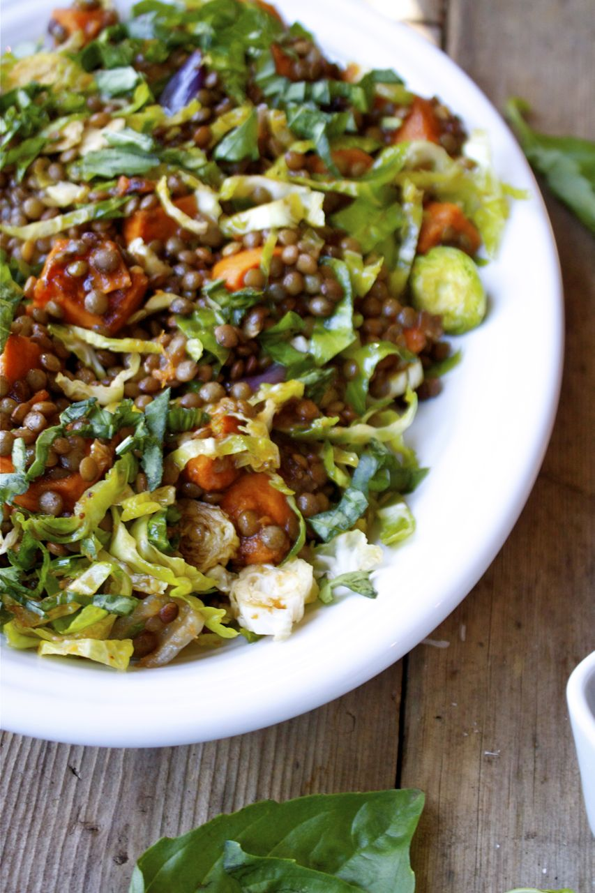 French Lentil & Vegetable Salad | In Pursuit Of More
