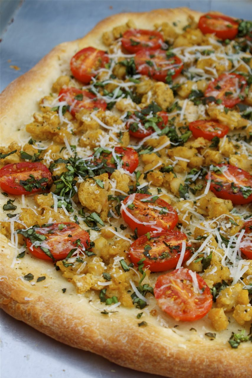 Tuscan Bean Pizza | In Pursuit Of More