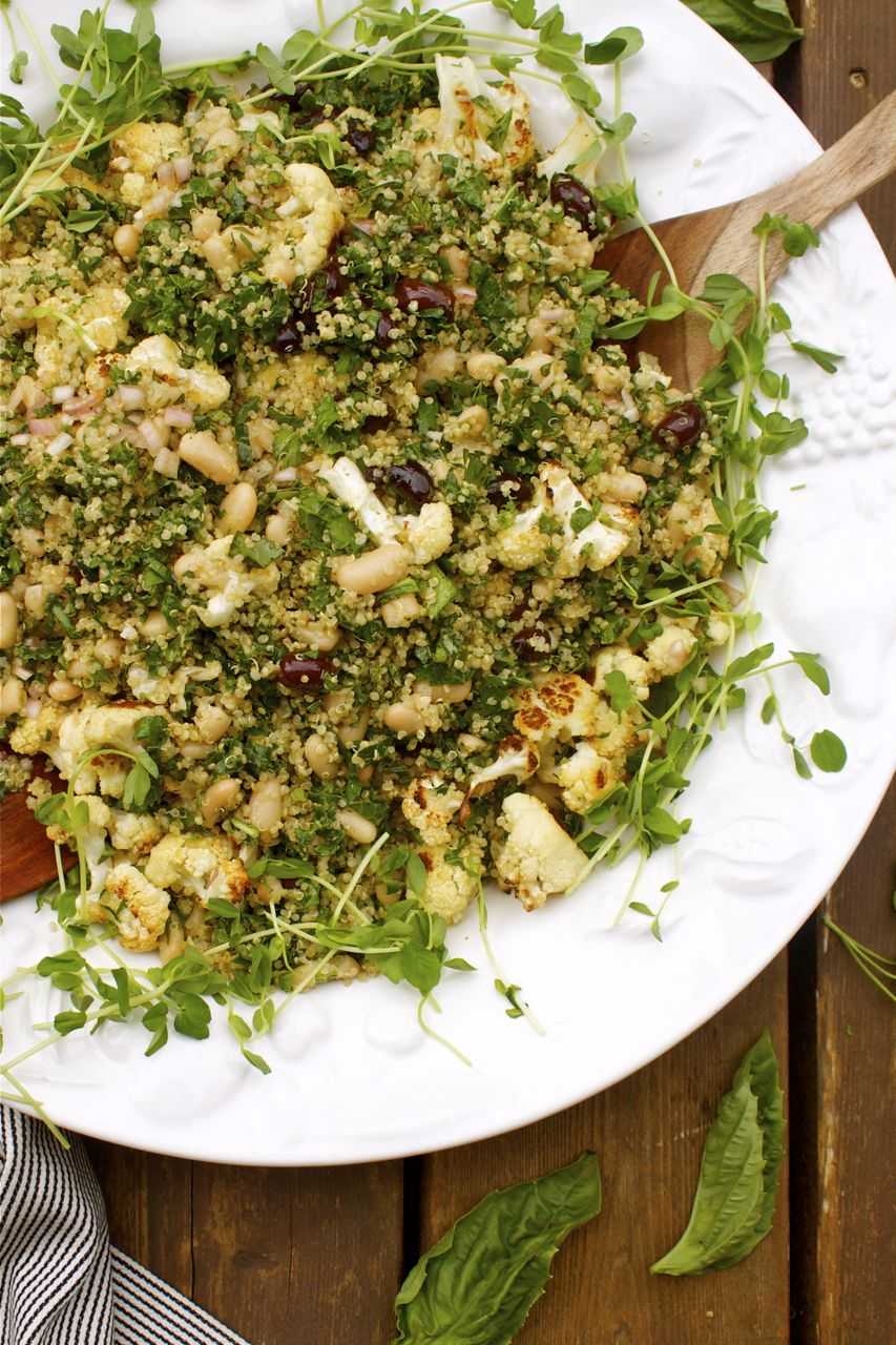 Herbed Quinoa Vegetable Potluck Salad | In Pursuit Of More