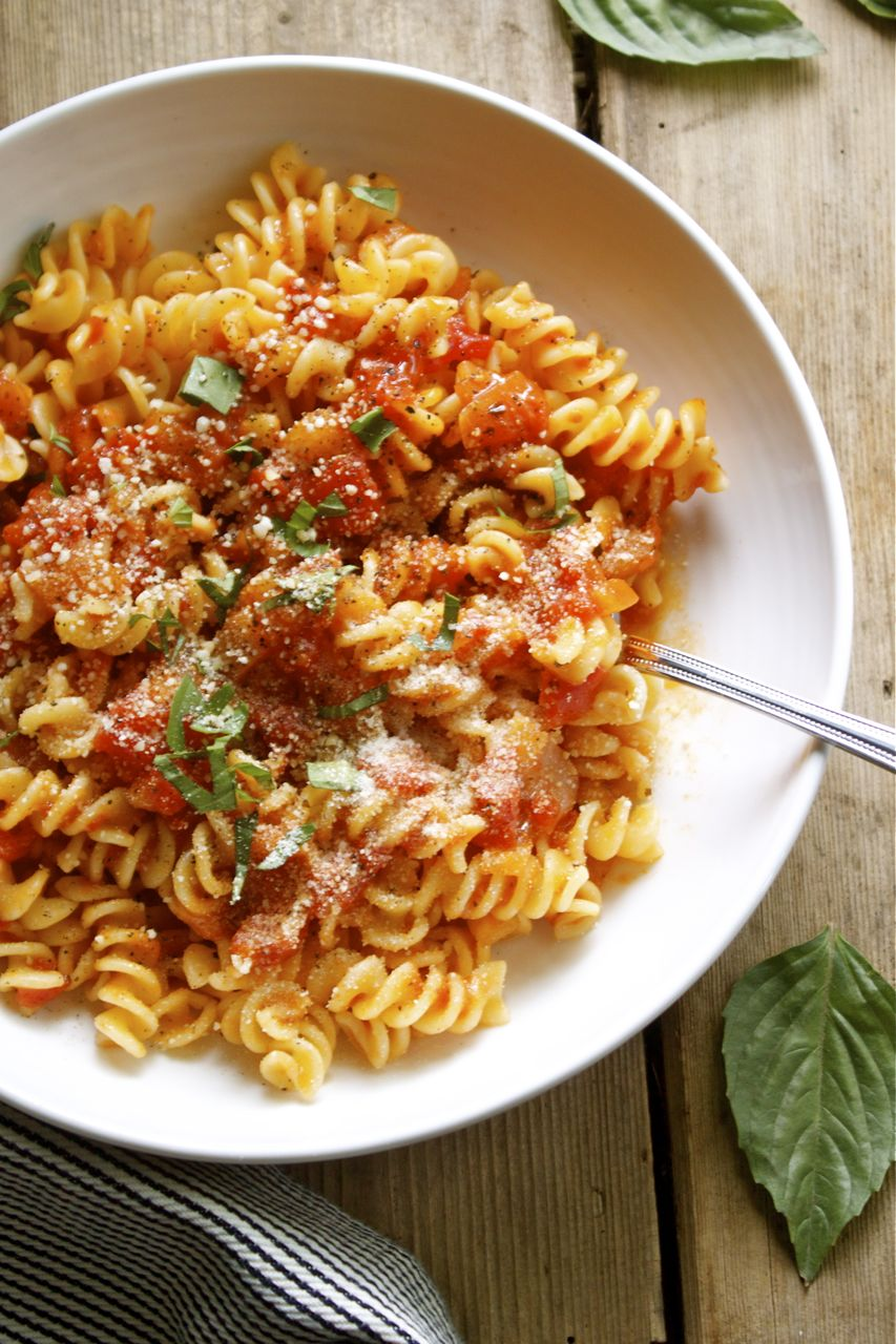Classic Tomato Pasta Sauce | In Pursuit of More