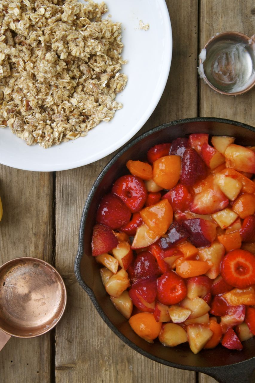 Summer Fruit Crisp | In Pursuit Of More