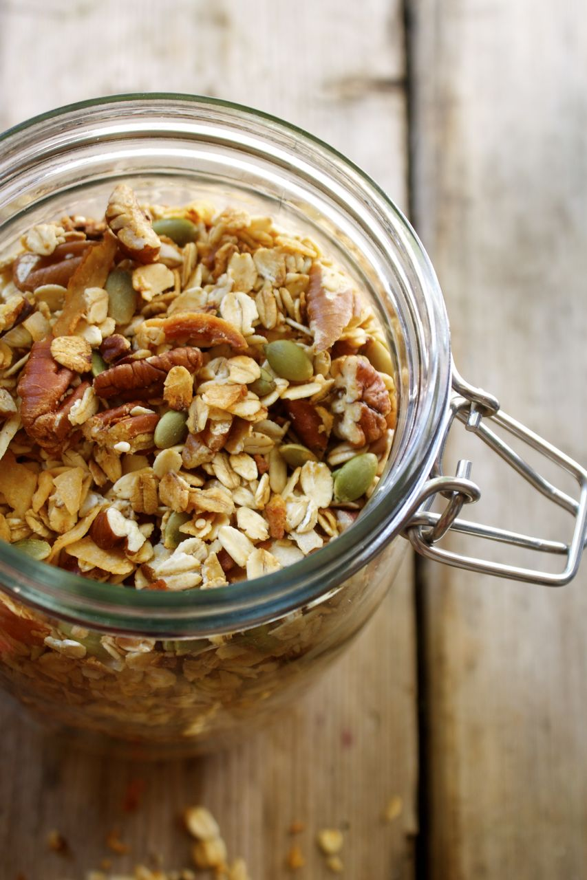 Recipe: Nik's Pecan Coconut Granola | In Pursuit of More