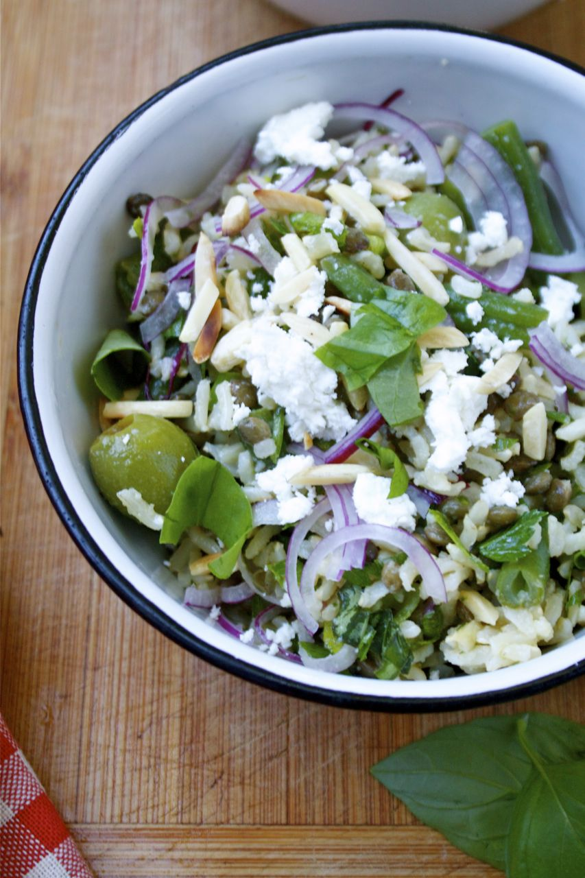 Herbed Rice & French Lentil Salad