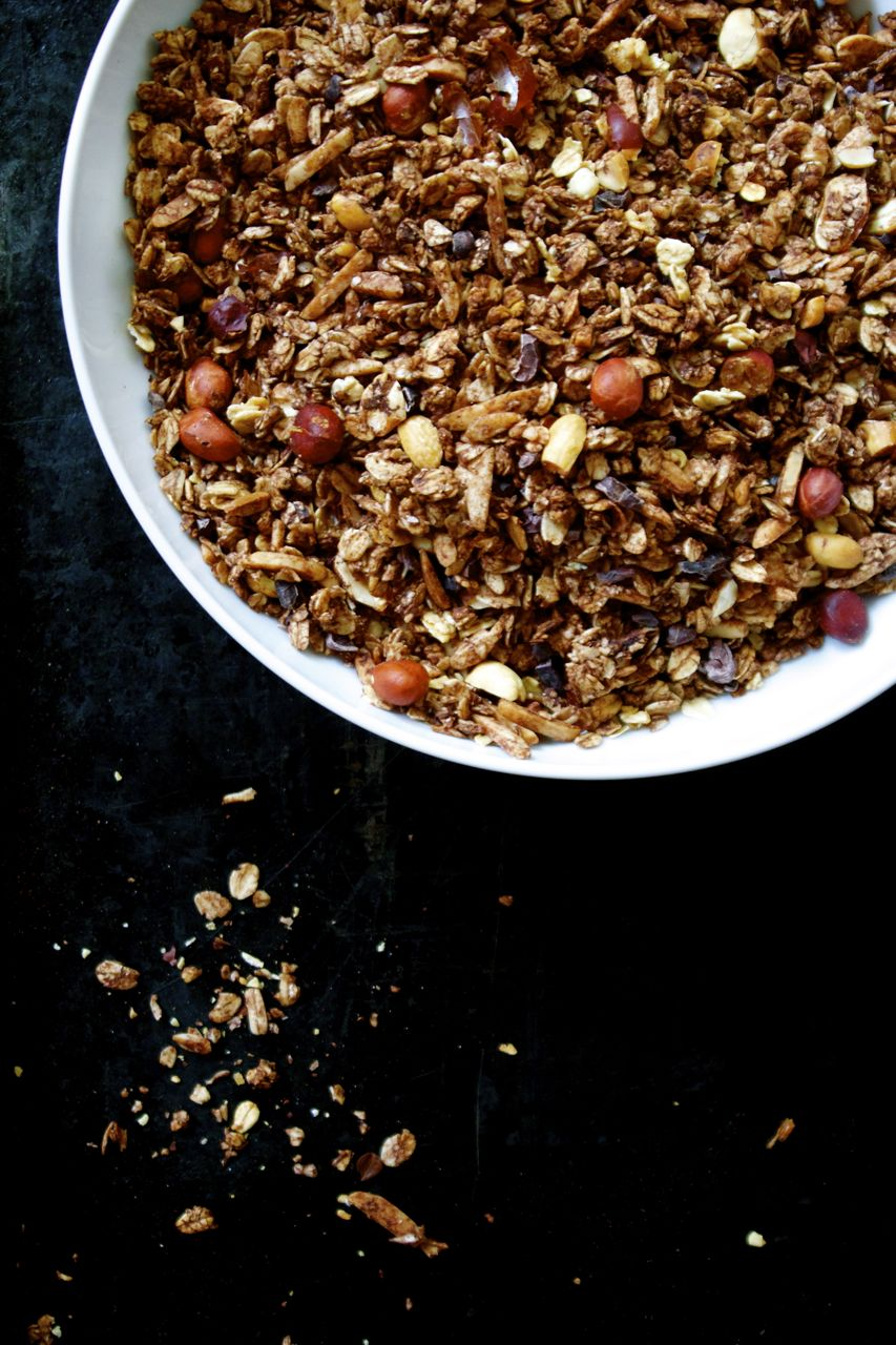 Peanut Lovers Mighty Chocolate Granola