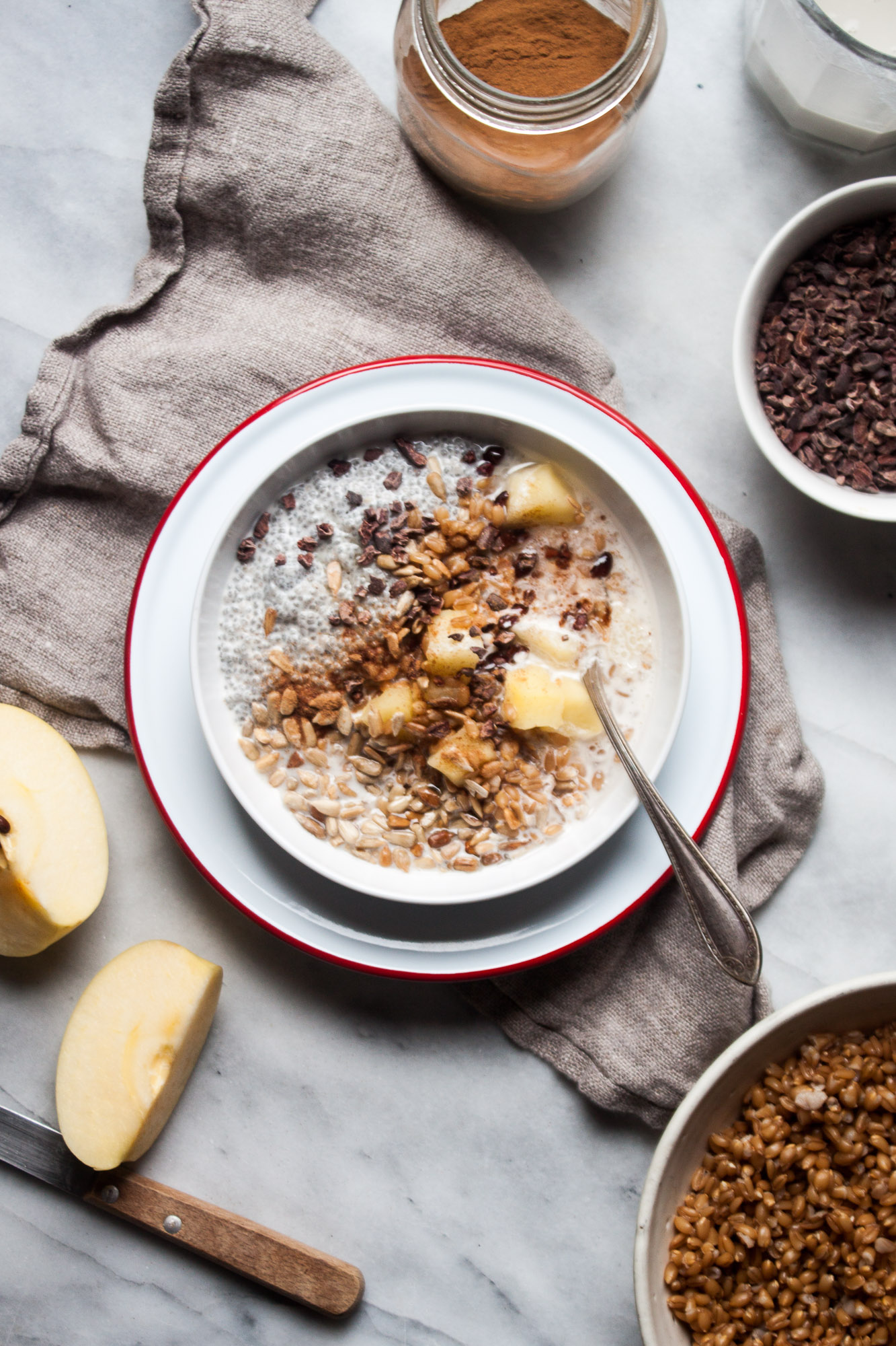 Winter Farro Breakfast Bowl