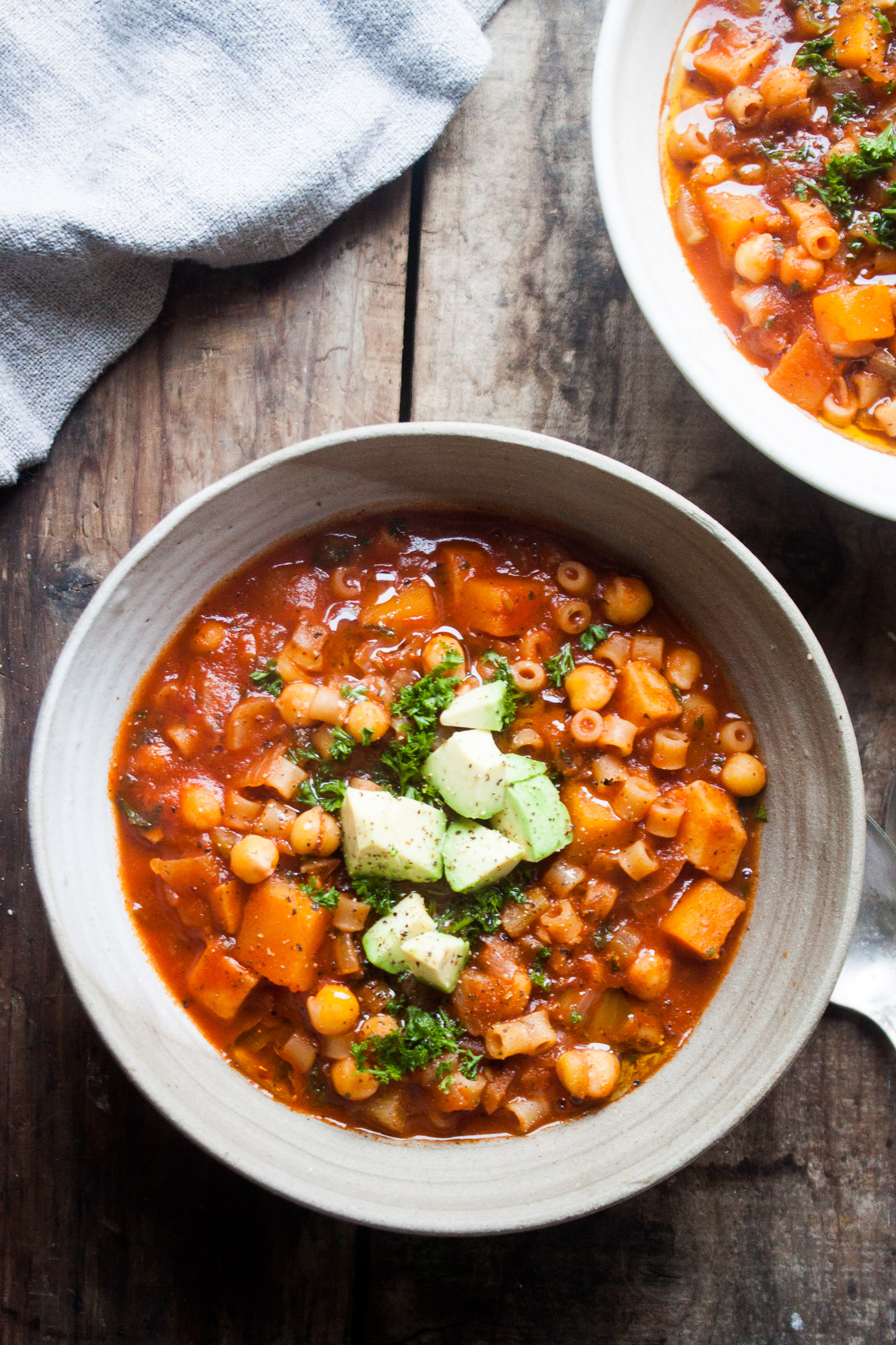 Winter Chickpea Minestrone | in pursuit of more