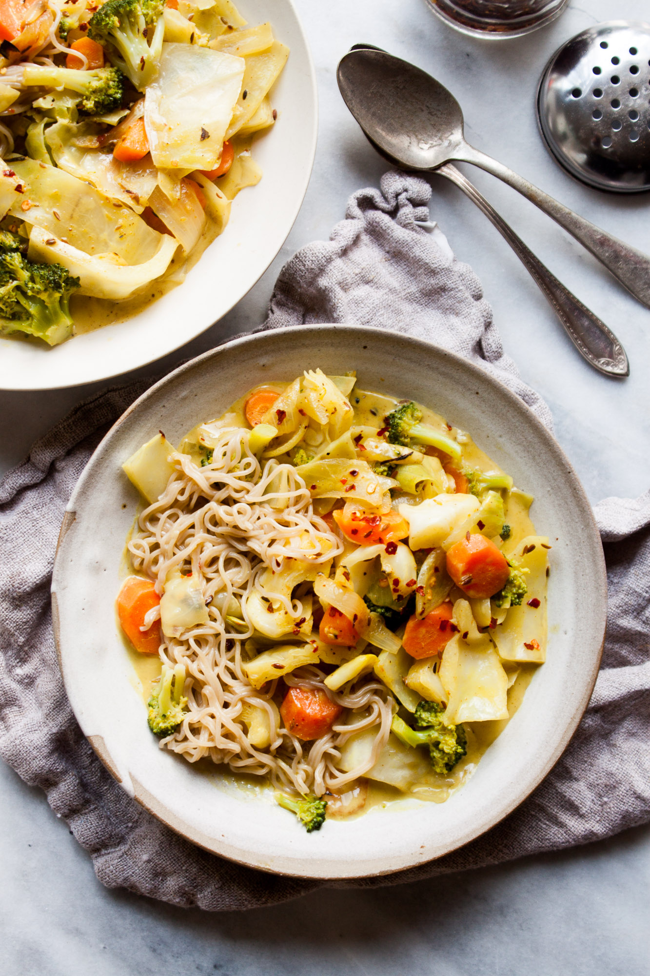 15 Minute Coconut Noodle Curry